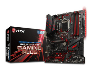 T. Madre MSI MPG Z390 GAMING PLUS, ChipSet Intel Z390, Soporta: Core i9 /i7/i5/i3 de 9na y 8va gen, Socket 1151, Memoria: DDR4 4000(O.C.)/3000(O.C.)/2133 MHz, 64GB Max, Integrado: Audio HD, Red, USB 3.0 y SATA 3.0, ATX, Ptos: 2xPCIEX16, 4xPCIEX1.