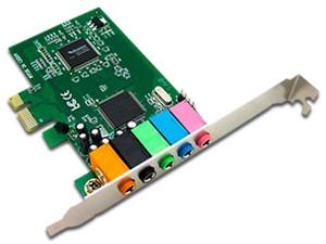 Tarjeta de sonido PCI Brobotix de 5.1 Canales.