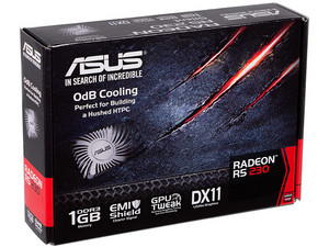 Tarjeta de Video AMD ASUS Radeon R5 230, 1GB GDDR3, 1xHDMI, 1xDVI, 1xVGA, PCI Express x16