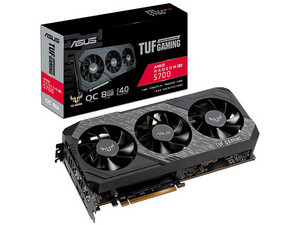 Tarjeta de Video AMD Radeon RX 5700 ASUS TUF GAMING X3 OC edition, 8GB GDDR6, 1xHDMI, 3xDisplayPort, PCI Express 4.0