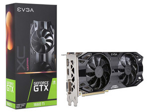 Tarjeta de Video NVIDIA GeForce GTX 1660 Ti EVGA XC Ultra GAMING, 6GB GDDR6, 1xHDMI, 1xDVI, 1xDisplayPort, PCI Express x16 3.0.