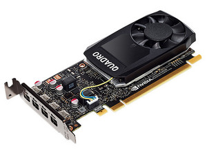 Tarjeta de Video NVIDIA QUADRO P1000 PNY, 4GB GDDR5, 4xMini DisplayPort, PCI Express x16 3.0