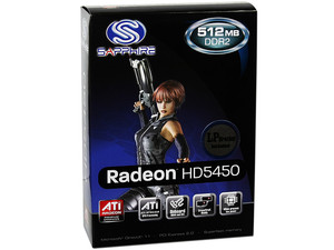 Tarjeta de Video SAPPHIRE Radeon HD 5450, 512MB DDR2, HDMI, DirectX 11, Puerto PCI Express 2.0