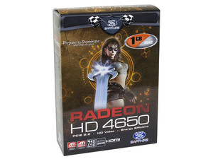 Tarjeta de Video SAPPHIRE ATI HD 4650, 1GB DDR2, Salida a TV, DirectX 10.1, Puerto PCI Express 2.0