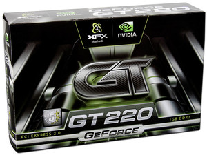 Tarjeta de Video XFX NVIDIA GeForce GT 220, 1GB DDR2. Puerto PCI Express 2.0