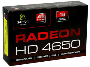 Tarjeta de Video XFX Radeon HD 4650, 1GB DDR2, Salida a TV, Dual-Link DVI, DirectX 10.1, Puerto PCI Express 2.0