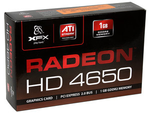 Tarjeta de Video XFX Radeon HD 4650, 1GB DDR2, HDMI, DVI, DirectX 10.1, Puerto PCI Express 2.0