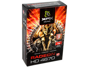 Tarjeta de Video XFX Radeon HD 4670, 1GB DDR2, Salida a TV, Dual DVI, DirectX 10.1, Puerto PCI Express 2.0
