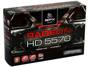 Tarjeta de Video XFX Radeon HD 5570, 1GB DDR2, HDMI, DVI, DirectX 11, Puerto PCI Express 2.1