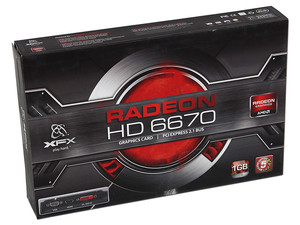 Tarjeta de Video XFX Radeon HD 6670, 1GB GDDR5, HDMI, DVI, DirectX 11, Puerto PCI Express 2.1