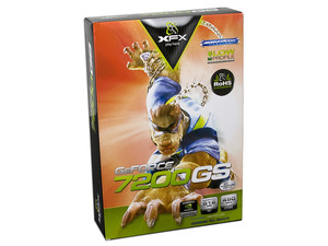 Tarjeta de Video XFX NVIDIA GeForce 7200GS, 256MB (512MB con Turbocache), Salida a TV, Puerto PCI Express x16