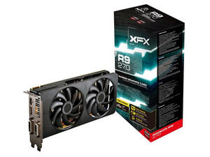 Tarjeta de Video XFX AMD RADEON R9 270, 2 GB GDDR5, Display Port, HDMI, DVI, Puerto PCI Express 3.0.
