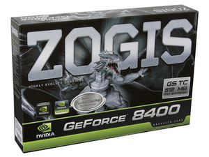 Tarjeta de Video ZOGIS NVIDIA GeForce 8400GS, 256MB DDR2 (con TurboCache hasta 512MB), Salida a TV, 100% compatible con DirectX 10. Puerto PCI Express x16