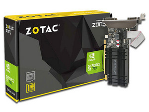 Tarjeta de Video NVIDIA GeForce GT 710 ZOTAC, 1GB GDDR3, 1xHDMI, 1xDVI, 1xVGA, PCI Express 2.0.