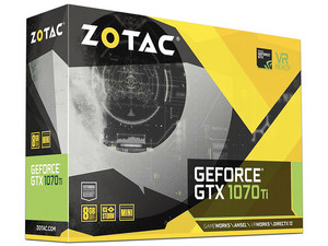 Tarjeta de Video NVIDIA GeForce GTX 1070Ti ZOTAC Mini, 8GB GDDR5, 1xHDMI, 1xDVI, 3xDisplayPort, PCI Express 3.0.