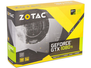 Tarjeta de Video NVIDIA GeForce GTX 1080Ti ZOTAC Mini, 11GB GDDR5X, 1xHDMI, 1xDVI, 3xDisplayPort, PCI Express x16 3.0