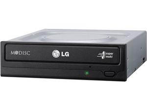 Quemador LG GH24NSD1, Serial ATA:  DVD+RW: Graba/Regraba/Lee: 22x/8x/16x,  DVD-RW: Graba/Regraba/Lee: 22x/6x/16x,  CD-RW: Graba/Regraba/Lee: 48x/32x/48x  DVD-RAM: 12x.