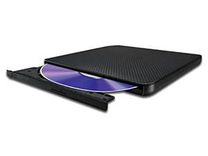 Quemador LG Externo Slim USB 2.0, Negro: no necesita cable de alimentación, DVD+RW: Graba/Regraba/Lee: 8x/8x/8x, DVD+R DL: Graba 6X, DVD-R DL: Graba 6X, DVD-RW: Graba/Regraba/Lee: 8x/6x/8x, CD-RW: Graba/Regraba/Lee: 24x/24x/24x.