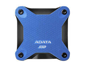 Unidad de Estado Sólido ADATA SD600Q, de 480 GB, USB 3.1. Color Azul.
