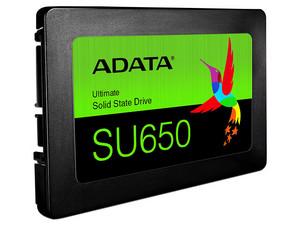 """Unidad de Estado Sólido ADATA SU650 de 1.92TB, 2.5\"""" SATA III (6Gb/s)."""