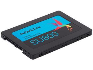 """Unidad de estado sólido ADATA SU800 Ultimate de 512GB, 2.5\"""" SATA III (6GB/s)."""