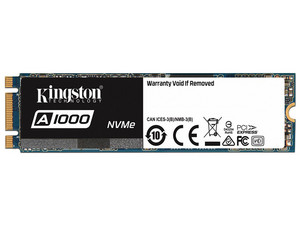 Unidad de Estado Sólido SSD Kingston A1000 de 240 GB, M.2 PCIe NVMe.