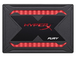 Unidad de Estado Sólido Kingston HyperX FURY RGB SSD de 960 GB, 2.5