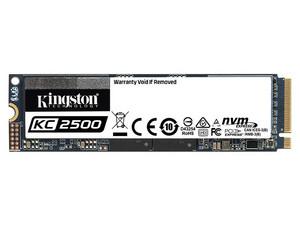 Unidad de Estado Sólido Kingston KC2500 de 500GB, M.2 PCIe NVMe.
