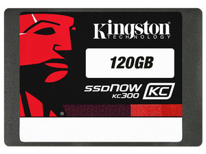 Unidad de Estado Sólido Kingston SSDNow KC300 de 120 GB, 2.5