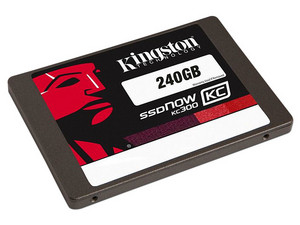 Unidad de Estado Sólido Kingston SSDNow KC300 de 240 GB, 2.5