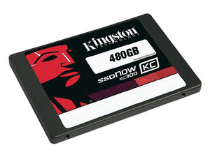 Unidad de Estado Sólido Kingston SSDNow KC300 de 480 GB, 2.5