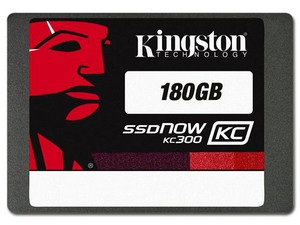 Kit de Actualización de Unidad de Estado Sólido Kingston SSDNow KC300 de 180 GB, 2.5