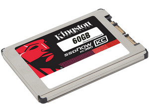 Unidad de Estado Sólido Kingston KC380 de 60 GB, 1.8
