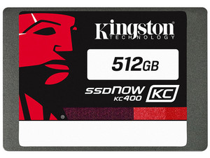 Unidad de Estado Sólido SSD Kingston KC400 de 512 GB, 2.5