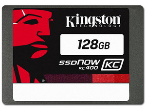 Kit de Unidad de Estado Sólido SSD Kingston KC400 de 128GB, 2.5