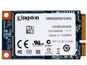 Unidad de Estado Sólido Kingston SSDNow mS200 de 120 GB, mSATA.