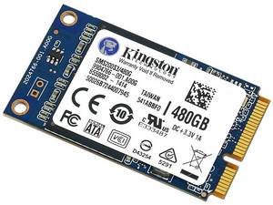 Unidad de Estado Sólido Kingston SSDNow mS200 de 480GB, mSATA (6Gb/s).
