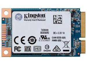 Unidad de Estado Sólido Kingston UV500 de 120 GB, mSATA, SATA (6Gb/s).