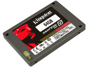 Unidad de Estado Sólido Kingston SSDNow V100 de 64GB, 2.5
