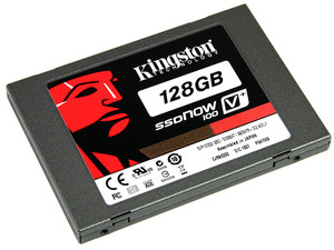 Unidad de Estado Sólido SSD Kingston V+100 de 128GB, 2.5