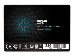 """Unidad de Estado Sólido Silicon Power Ace A55 de 256 GB, 2.5\"""" SATA III (6Gb/s)."""