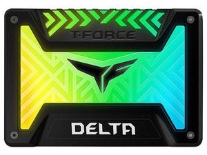 """Unidad de Estado Sólido TeamGroup T-Force Delta RGB de 250GB, 2.5\"""", SATA III (6Gb/s). Color Negro."""