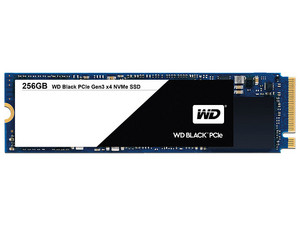 Unidad de estado solido Western Digital Black de 256GB, M.2.