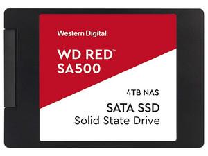 """Unidad de Estado Sólido Western Digital RED SA500 para NAS de 4TB, 2.5\"""" 7mm, SATA III (6.0 Gb/s)."""