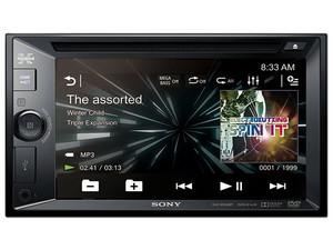 "Auto estéreo Sony Xplod con pantalla touch de 6.2\"", Bluetooth, NFC, USB."