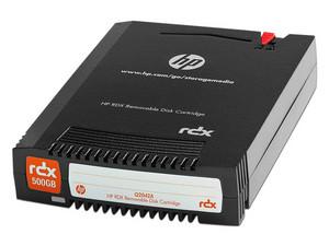 Cartucho de datos HP de 500GB.