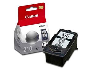Cartucho de Tinta Canon Negro, Modelo: PG-210 XL.