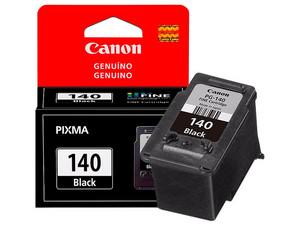 Cartucho de Tinta Canon Negro, Modelo: PG-140.