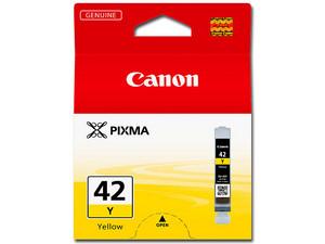 Cartucho de Tinta Canon Amarillo, Modelo: CLI42.