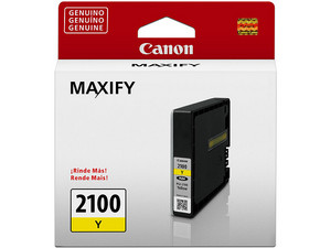 Cartucho de Tinta Canon Amarillo Modelo: PGI-2100 Y.